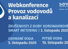 Prodloužení přihlášení na webkonferenci Provoz vodovodů a kanalizací