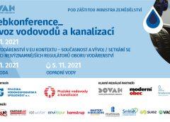 19. ročník webkonference Provoz vodovodů a kanalizací